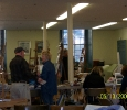 The Providence Art Club used the Fellowship Hall for art classes while their building was being renovated.
