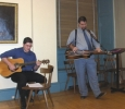 Jason Shealy on guitar and Dan Tannehill on dobro