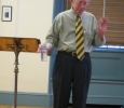 Dr. Ralph Wood, a professor at Baylor University led the Sunday Forum during the month of June.