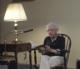 Barbara Staples shares a reading from a Rhode Island Baptist