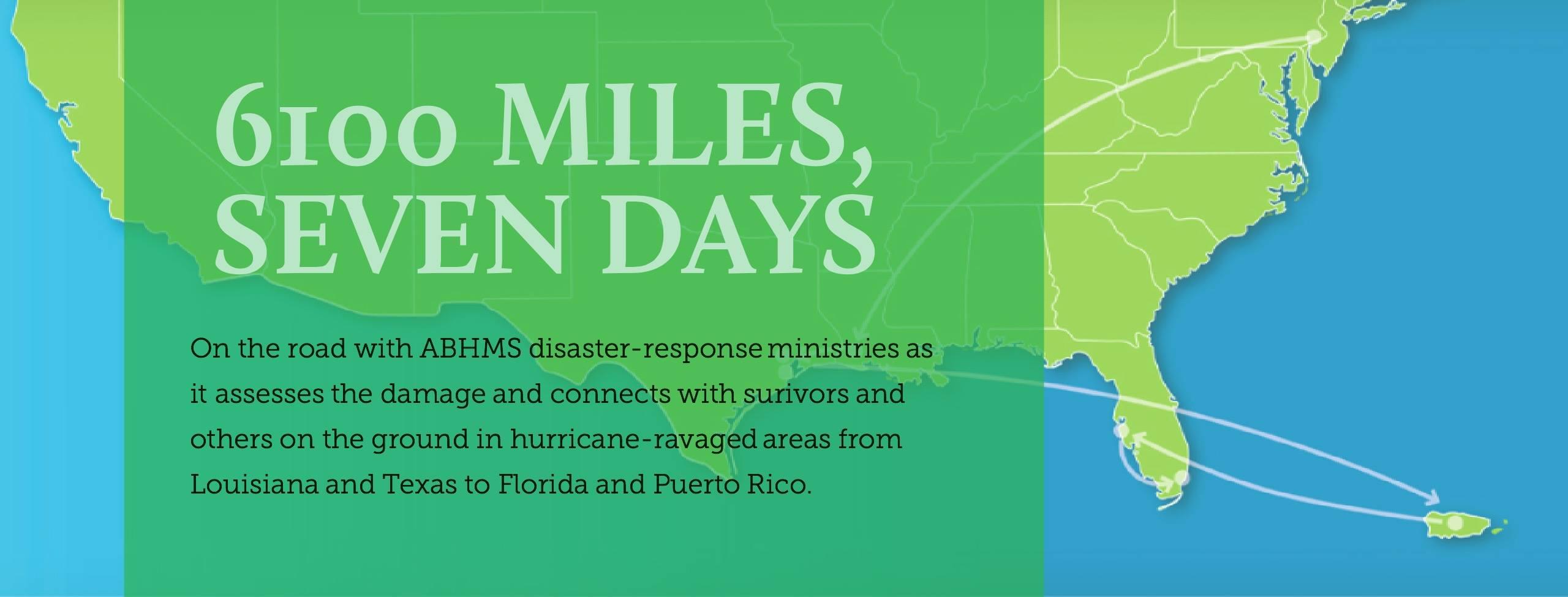 American Baptist Home Mission Societies Hurricane Response