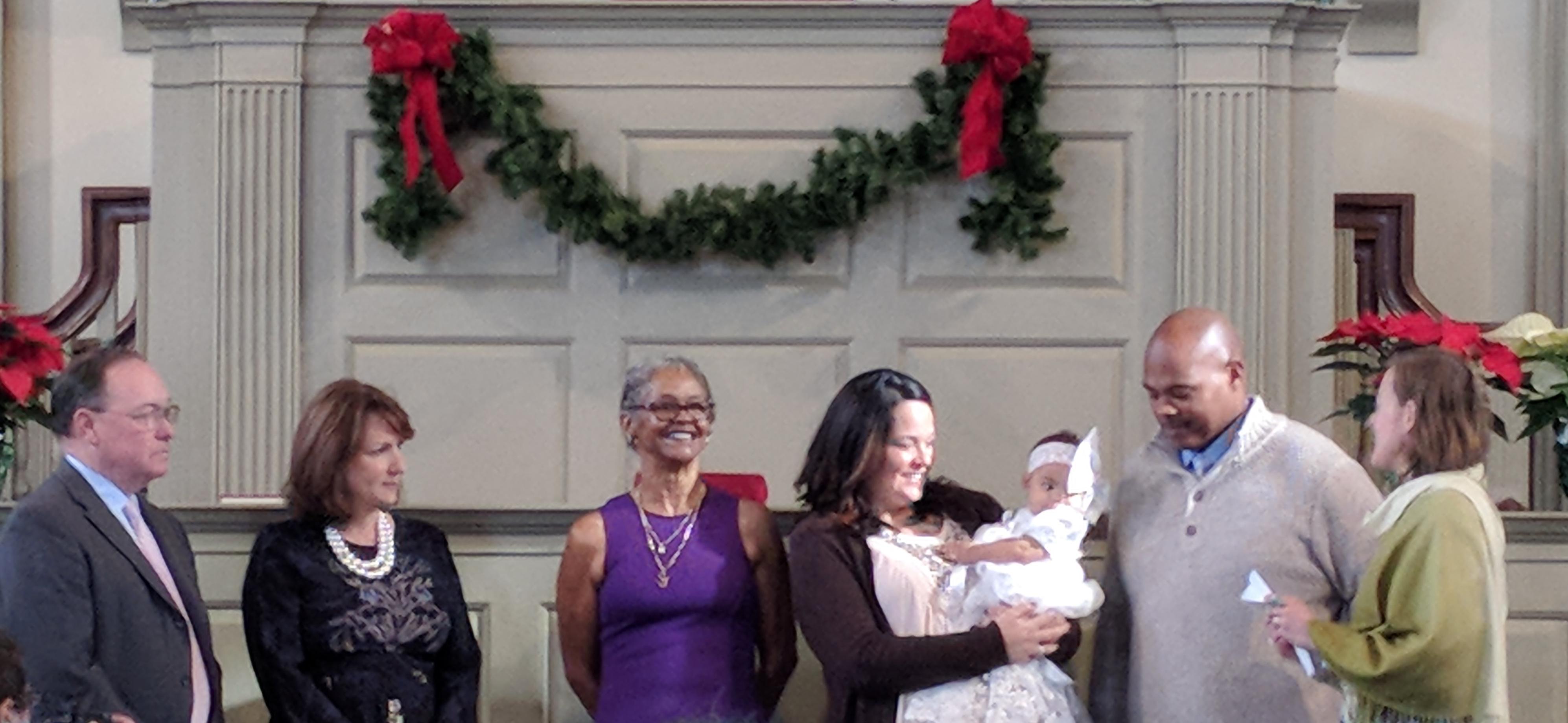 "Sunday, December 3, 2017 ""Blessed Then Baptized"""